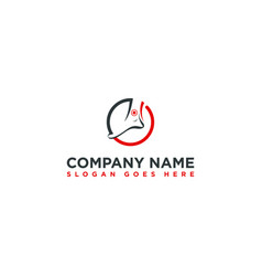 Foot and ankle treatment logo template vector