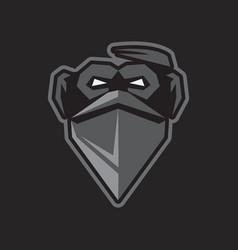 Gorilla image sport mascot vector