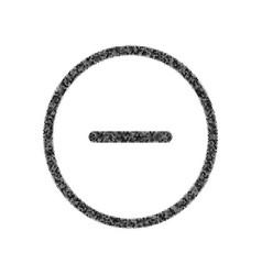 Negative symbol minus sign vector