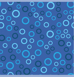 seamless pattern consisting of colored rings vector image
