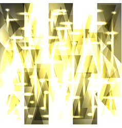 Sparkling pattern of light golden stripes and vector