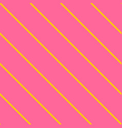 Tile neon pink and orange stripes pattern vector