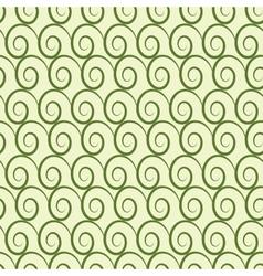 Wave geometric seamless pattern 3506 vector image