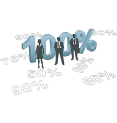 business human resources vector image