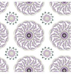 iznik tile pattern vector image
