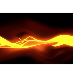 Fiery Flames vector image vector image