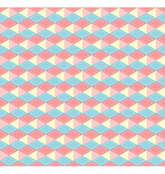 Hex pastel pattern vector image