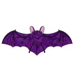 Hand drawing bat vector image vector image