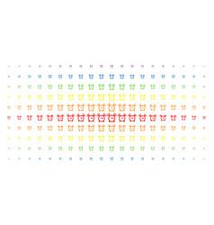 Buzzer spectral halftone effect vector