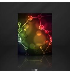 Neon Molecule vector