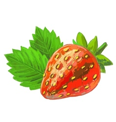 Picture strawberry vector