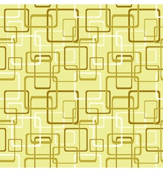 Seamless pattern with square and rectangle shapes vector