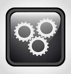 setup icon vector image