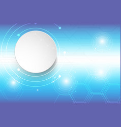 abstract background technology blue design vector image vector image