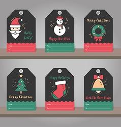 Christmas 08 04 vector image vector image