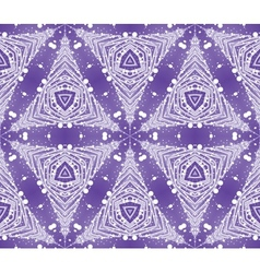 Seamless wallpaper with winter pattern vector image