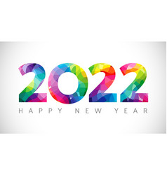 2022 colorful stained vector