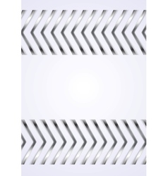 Abstract metallic arrows background vector