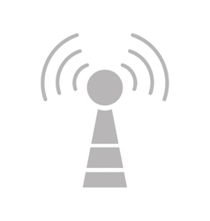 antenna communication technology vector image