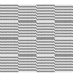 Black white grid pattern vector