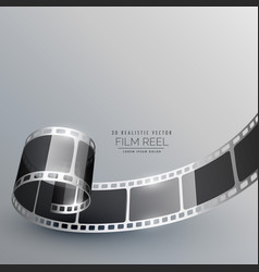 film strip for camera photography vector image