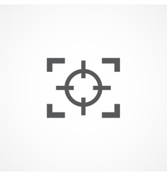Focus icon vector