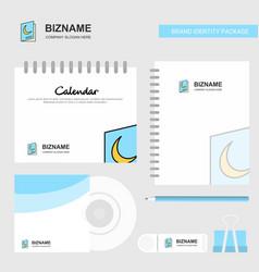 Halloween card logo calendar template cd cover vector