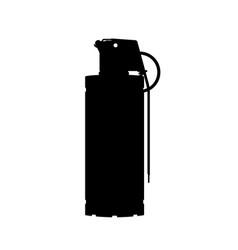 Hand flash grenade special forces vector