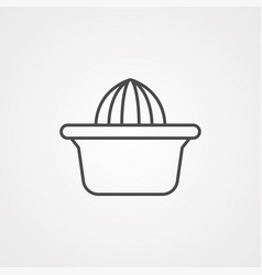 juicer icon sign symbol vector image