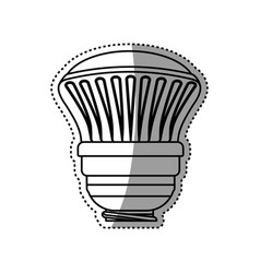 light bulb electric halogen vector image