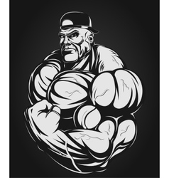 Man iron vector