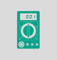 Multimeter icon vector