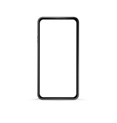 simple mobile phone or smart phone design vector image