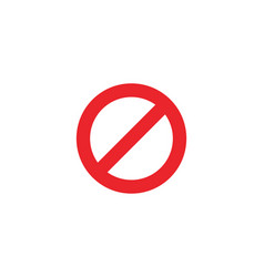 stop sign icon template vector image
