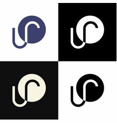 Ur logo vector