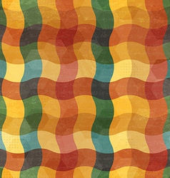 abstract vintage wave seamless vector image vector image