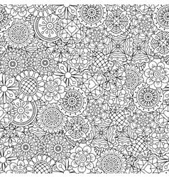 Beautiful kaleidoscope full frame background vector image vector image