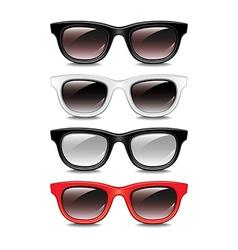 set glasses vector image vector image