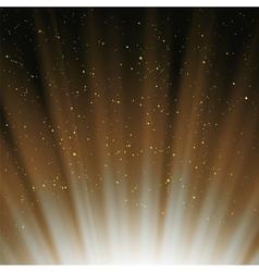 Wave Orange Starry Heaven vector image