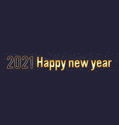 2021 happy new year merry christmas holiday vector image