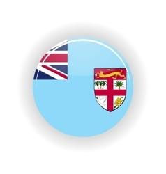 Fiji icon circle vector image