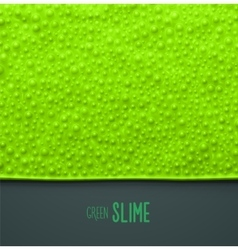 Green Slime vector image