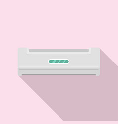 home conditioner icon flat style vector image