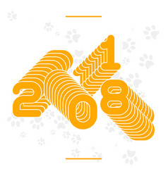 new year concept banne vector image