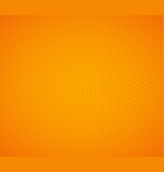 orange yellow hexagon honeycomb background vector image
