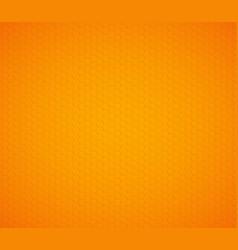 orange yellow hexagon honeycomb background vector image