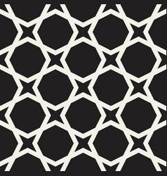 seamless star shape geometric pattern simple vector image