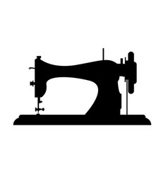 Tailor logo sewing machine logo template vector