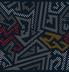 Urban color geometric pattern vector