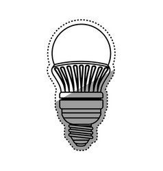 light bulb electric led vector image vector image